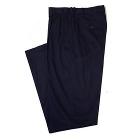 Savane Savane Navy Pleat Ultimate Chino