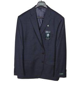 Lauren Navy/Grey Glen Plaid Coat