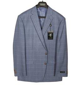 Lauren White/Blue Windowpaine Sportcoat