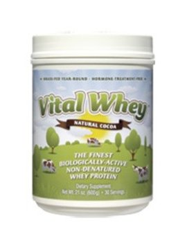 Well Wisdom Vital Whey, Cocoa - 21 oz