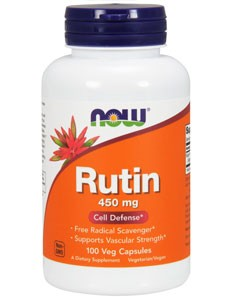 Now Foods Rutin - 450 mg 100 vcaps