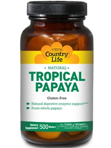 Country Life Tropical Papaya Chewables