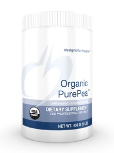 Designs for Health Organic Pea Protein Unflavored 16 oz