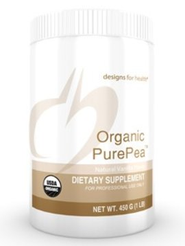 Designs for Health Organic Pea Protein Vanilla - 16 oz