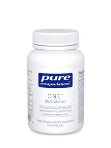 Pure Encapsulations O.N.E. Multivitamin 60 caps