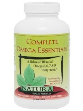 Natura Health Products Complete Omega Essentials - 120 softgels