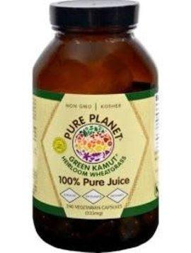 Pure Planet Green Kamut  Vegetarian caps  240 Caps - 333mg