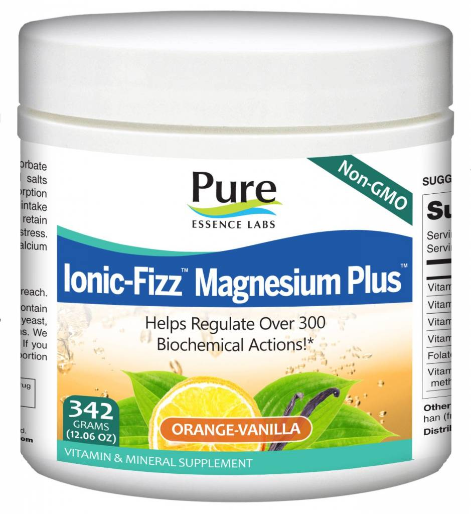 Ionic-Fizz Magnesium + Orange-Van. -342g