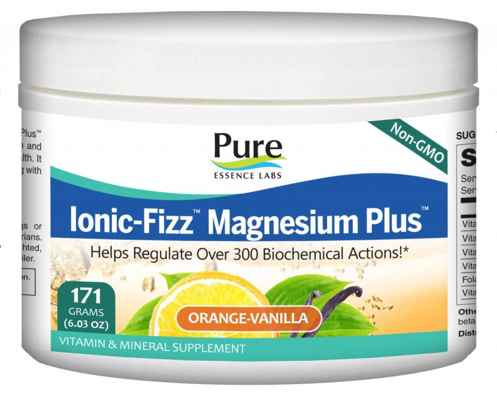 Ionic-Fizz Magnesium + Van-Orange - 171g