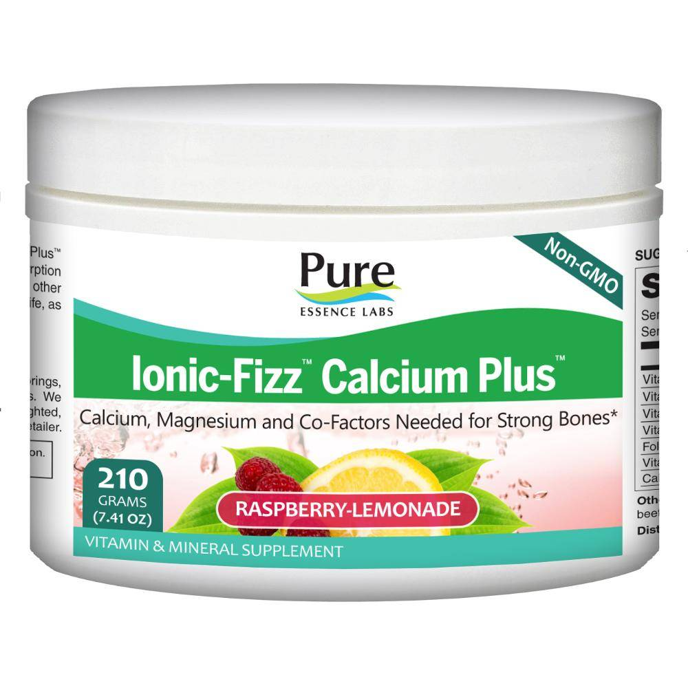 Ionic-Fizz Calcium Plus Raspberry Lemonade 210g