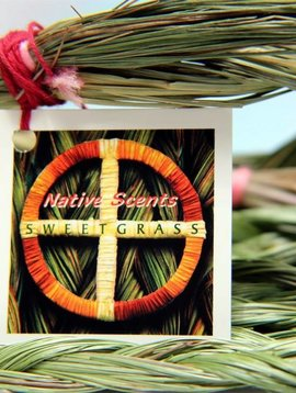 Native Scents Sweetgrass Braid
