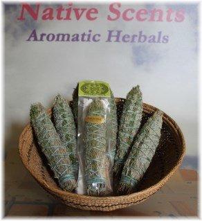 Native Scents Smudge Stick Pinon and Sage