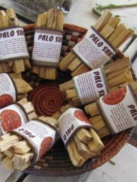 Thymekeeper Palo Santo Bundle of 5 sticks