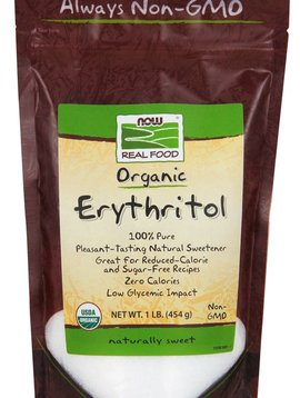 Now Foods Organic Erythritol - 1lb.
