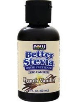 Now Foods Better Stevia French Vanilla - 2oz