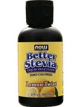 Now Foods Better Stevia Lemon Twist - 2oz