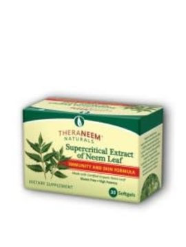 TheraNeem Organix Neem Supercritical - 30 softgels
