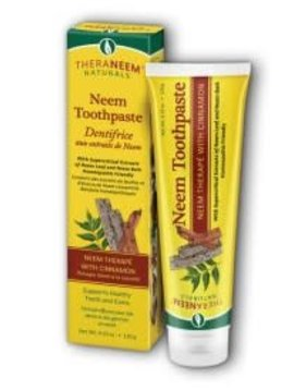 TheraNeem Organix Neem Toothpaste Cinnamon- 4.23oz