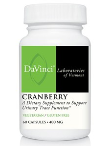 Nature's Way Products Cranberry concentrate - 60 tabs -- 400mg.