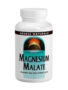 Source Naturals Magnesium Malate 1250mg 90tabs