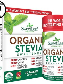 Organic Sweetleaf packets 70 ct