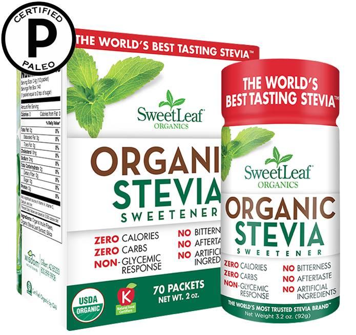 Organic Sweetleaf packets 70 ct
