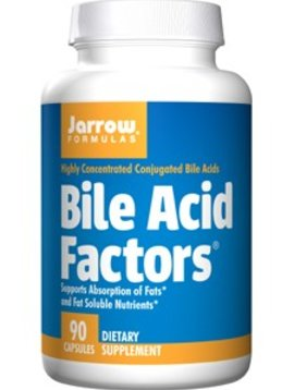 Jarrow Bile Acid Factors 90 caps