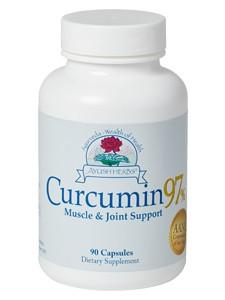 Ayush Herbs Ayush Herbs Curcumin 97% - 90 caps