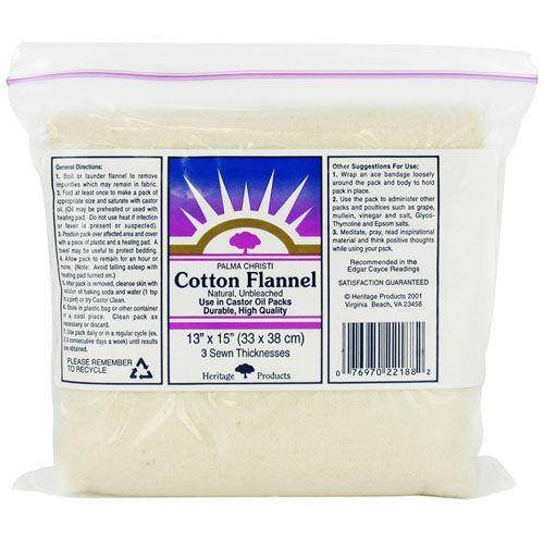 Cotton Flannel (Heritage) - 13 x 15
