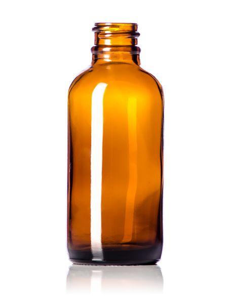 Amber Glass Bottles W/Spray Lid - 2oz.