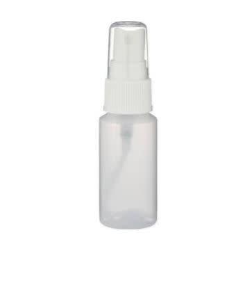 1 oz Plastic Squeeze Bottles W/Spray Lid