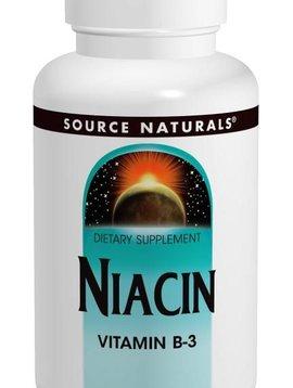 Source Naturals Niacin (B-3) - 100 mg - 100 tabs