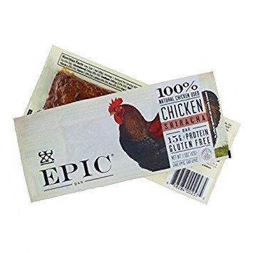 Epic Chicken Sriracha Protein Bars