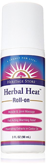 Herbal Heat Liniment roll-on - 3 oz