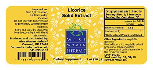 Licorice Solid Extract - 2 oz