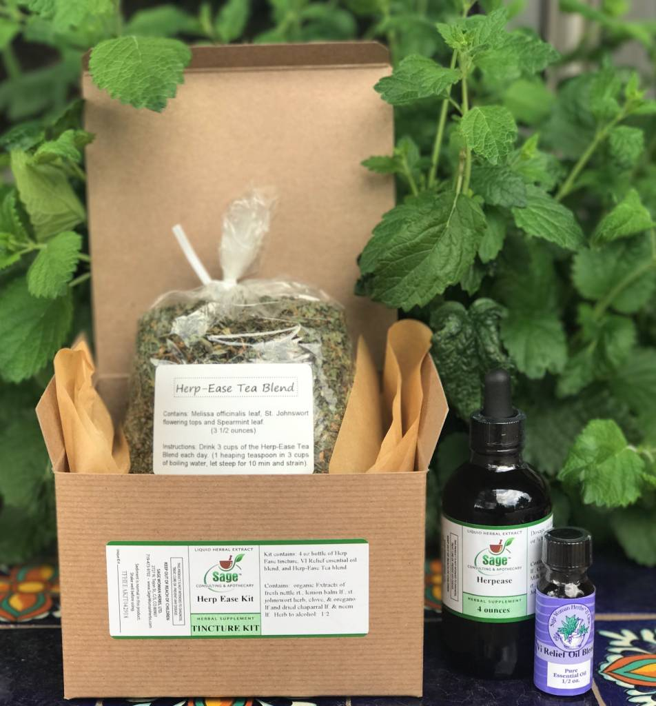Herp-Ease Kits - Sage Consulting & Apothecary