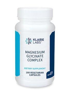 Klaire Labs Magnesium Glycinate - 100 vege caps