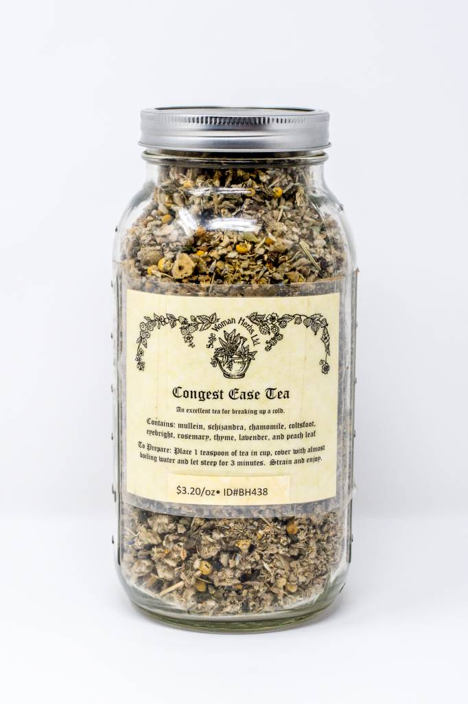 Congest Ease Tea 16 oz.