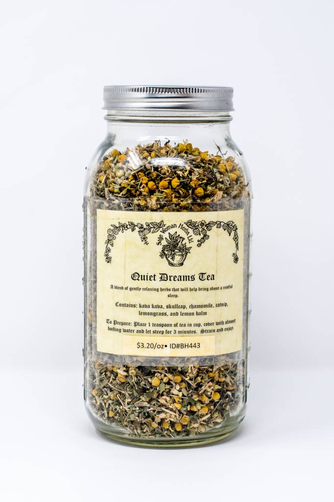 BULK - Quiet Dreams Tea -- 16oz. (disc. 20%)