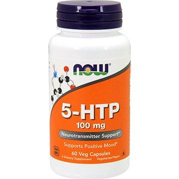 Source Naturals 5-HTP NOW Foods - 100 mg - 60 caps