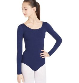 Capezio Long Sleeve Supplex Leo