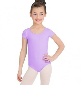 Capezio Child Short Sleeve Supplex Leotard