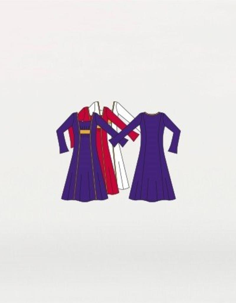 Body Wrappers Praise Dress Girls 0518