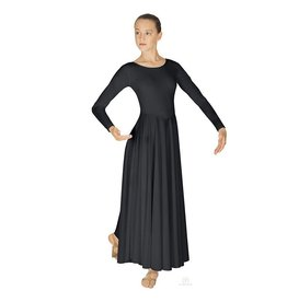 Eurotard Liturgical Dress 13524 BLK M