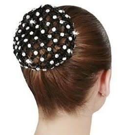 Dasha Rhinestone Bun Cover