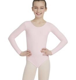 Capezio Girls Long Sleeve Supplex Leotard