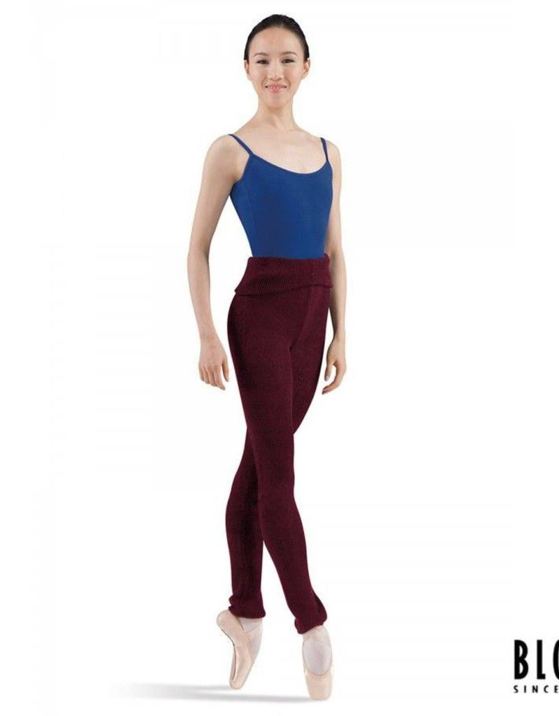 Bloch Knit Rollover Pants P0928
