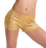 Gia Mia Metallic Boycut Shorts G292