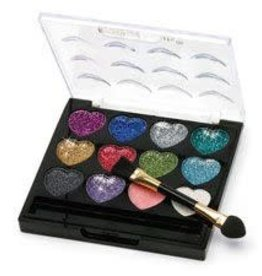 Dasha Glitter Heart Palette