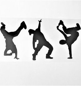 Hip Hop Window Decals g328